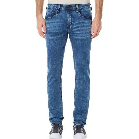 Buffalo David Bitton Mens Ash-x Slim Fit Jeans, blue, 36W x 32L
