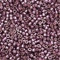 Miyuki Delica Seed Beads 11/0 - Duracoat Galvanized Eggplant DB1850 7.2 Grams - Thumbnail 0