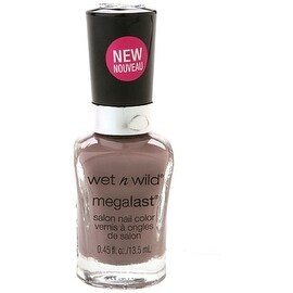 Wet n Wild MegaLast Salon Nail Color, Wet Cement 0.45 oz