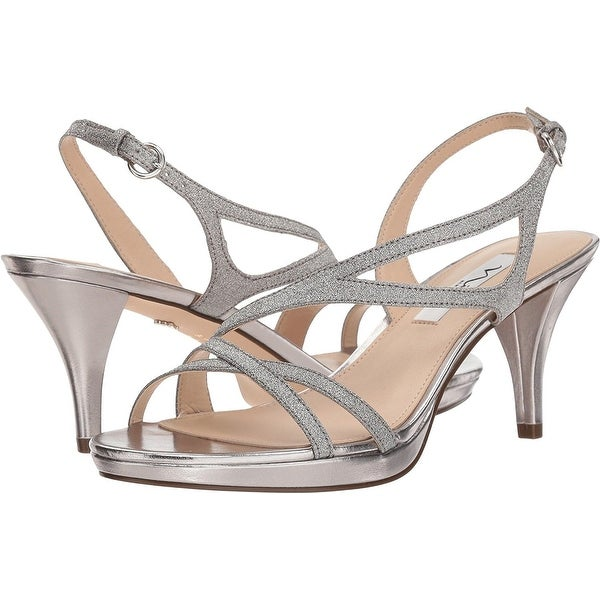 Nina Womens Nura, Silver, Size 6.5