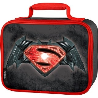 Thermos Soft Insulated Lunch Kit, Batman Vs Superman, Black