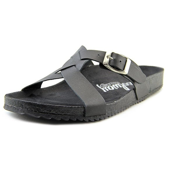 Coolway Sierra Open Toe Leather Slides Sandal