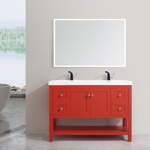 "Winslow 48"" Double Bathroom Vanity Set"