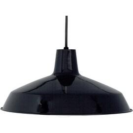 Nuvo Lighting 76/284 Industrial 1 Light Indoor Barn Pendant - 16 Inches Wide