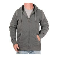 U.S. Life Men's Heavyweight Sherpa-Lined Full-Zip Hoodie