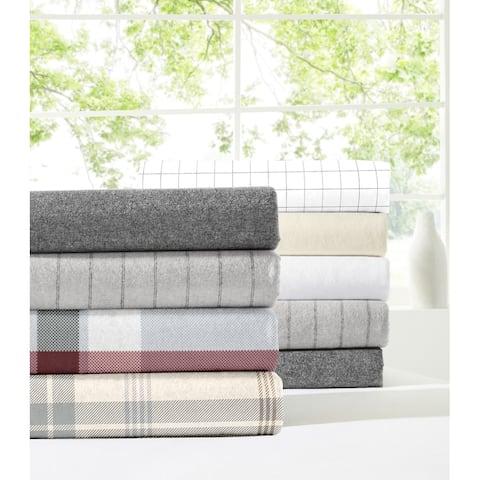 Dormisette Luxury German Flannel 6-ounce Hemstitch Bed Sheet Set