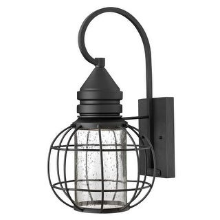 """Hinkley Lighting 2254 16.75"""" Height 1 Light Dark Sky Lantern Outdoor Wall Sconce from the New Castle Collection"""