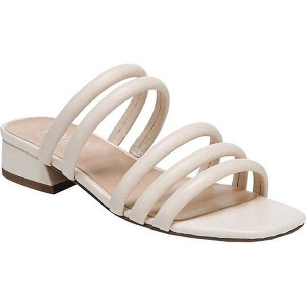 73f0d8ffab7a Shop Franco Sarto Women s Fitz Slide Milk Sheep Nappa Leather ...