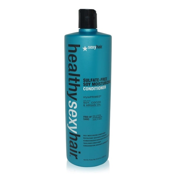 Sexy Hair Healthy Sexy Hair Sulfate-Free Soy Moisturizing Conditioner for Unisex - 33.8 Oz