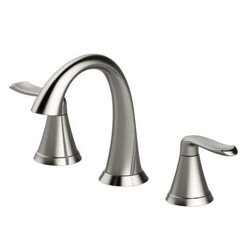 Jacuzzi PV41 Piccolo 1.2 GPM Widespread Bathroom Faucet with Pop-Up Drain Assembly