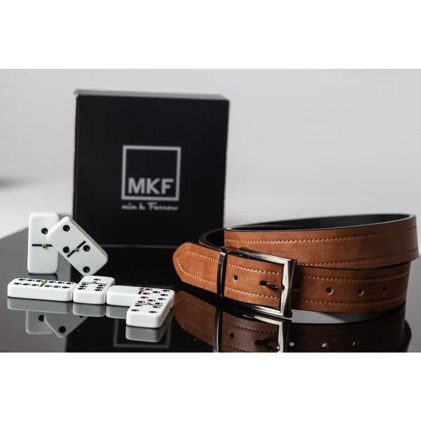 Farrow MKF Collection Analdo Genuine Leather Belt by Mia K