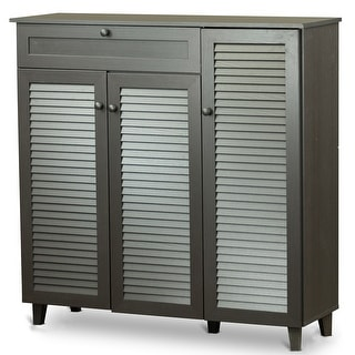 Awesome Entryway Cabinet With Doors Set