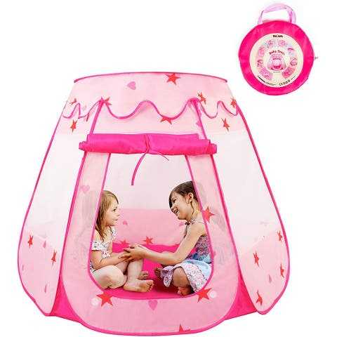 Pop Up Princess Tent, Ball Pit for Toddlers Girls, Easy to Assemble