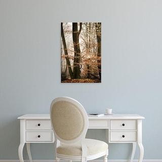 Easy Art Prints Lars Van de Goor's 'Bronze Tree' Premium Canvas Art
