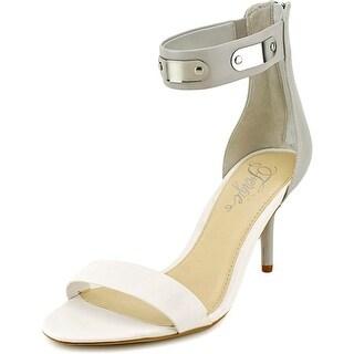 Fergie Nimble Women Open-Toe Synthetic White Heels