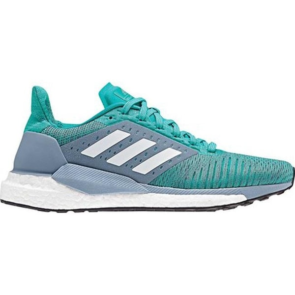 795aaab721f Shop adidas Women s Solar Glide ST Running Shoe Hi-Res Aqua White Clear  Mint - Free Shipping Today - Overstock - 25558719