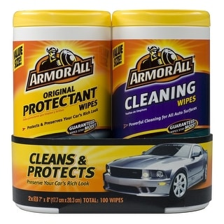 Armor All 10848 Protectant and Cleaning Wipe