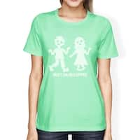 Must Have Coffee Zombies Womens Halloween Tshirt Funny Graphic Tee