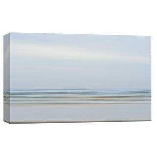 """PTM Images 9-101733  PTM Canvas Collection 8"""" x 10"""" - """"Ocean Beach Abstract 3, Copalis"""" Giclee Beaches Art Print on Canvas"""