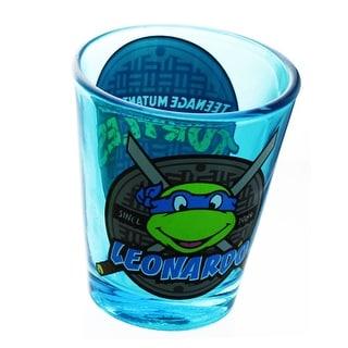 Teenage Mutant Ninja Turtles Blue Leonardo Shot Glass