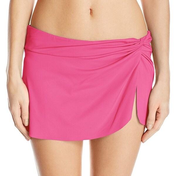 29b842cf76 Shop Anne Cole Pink Women's Size Medium M Sarong Swim Skirt Swimwear ...