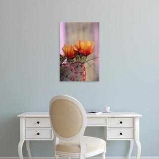 Easy Art Prints John & Lisa Merrill's 'Flower' Premium Canvas Art