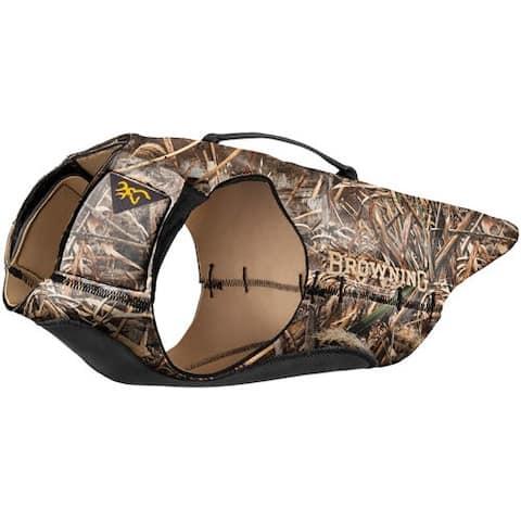 Browning p5490199 browning dog vest 3mm neoprene medium w/handle max5 45-55lb<