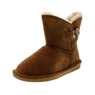 Bearpaw Women's Rosie Ankle-High Sheepskin Boot