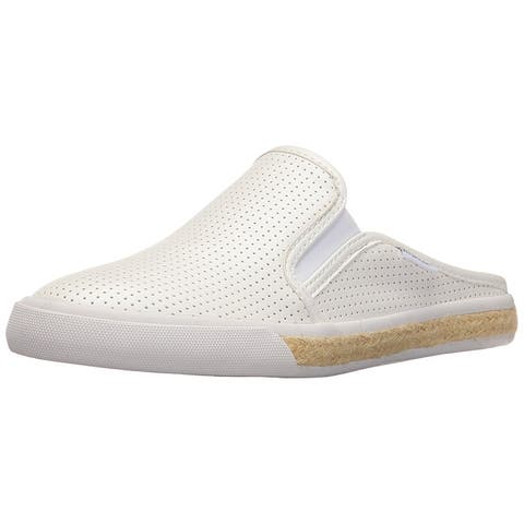 dc2f5281c Tommy Hilfiger Womens Frank3 Leather Closed Toe Mules