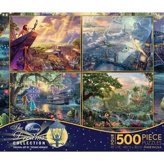 Thomas Kinkade Disney Dreams Puzzle Pack