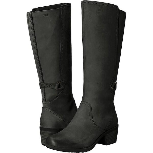 Shop Teva Womens W Foxy Tall Leather