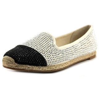 INC International Concepts Steevie Pointed Toe Canvas Espadrille