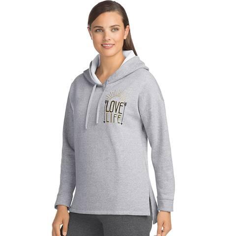 Hanes Women's Graphic Pullover Hoodie