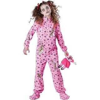 Zombie Girl Costume Tween