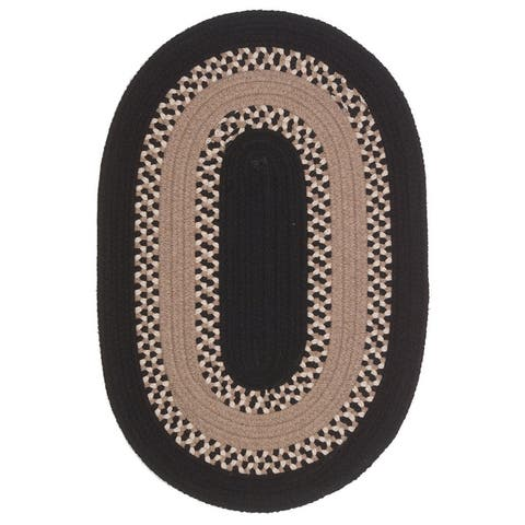 Colonial Mills Corsair Banded Braided Oval Rug