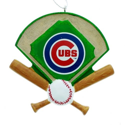 Chicago Cubs Field Ornament