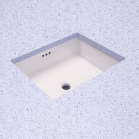 "ProFlo PF1713U 19-7/8"" Undermount Bathroom Sink with Overflow"