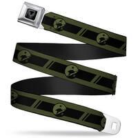 Halo Spartan Ii Program Seal Full Color Black Silver Halo Spartan Ii Blue Seatbelt Belt