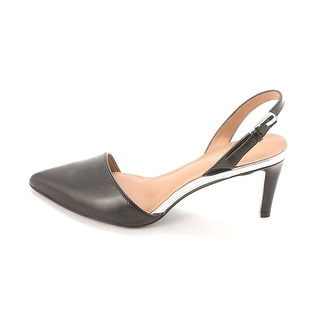 Calvin Klein Womens Clarissa Pointed Toe SlingBack Classic Pumps