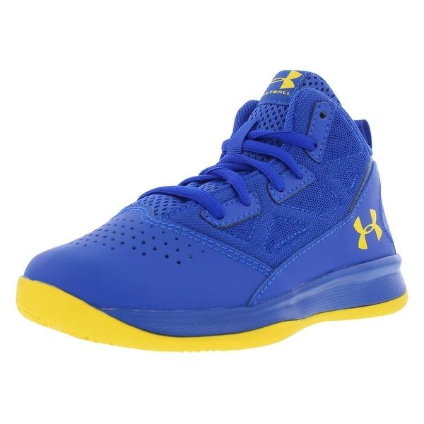 cbedfb5bef Shop Under Armour Jet Preschool Basketball Boy's Shoes - 12 M US ...