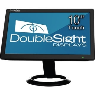 "DoubleSight Displays DS-10UT DoubleSight Displays 10"" USB LCD Monitor with Touch Screen TAA - 1024 x 600 - WSVGA -"
