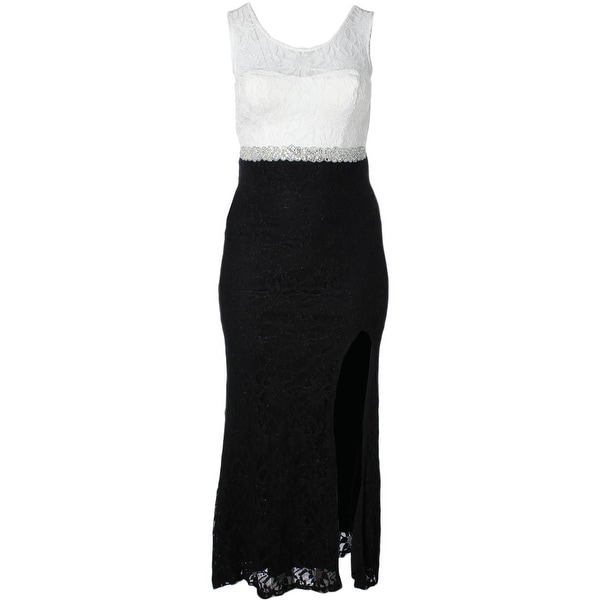 Shop City Studio Womens Formal Dress Lace Glitter - 13 - Free Shipping On  Orders Over  45 - Overstock - 19625825 5c1dfac5a
