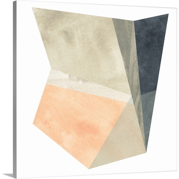 """""""Marble Origami IV"""" Canvas Wall Art"""