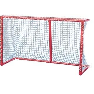 72 in. Pro Hockey Goal, Red & White