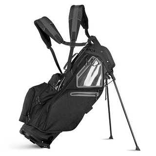 Sun Mountain 2018 5.5 LS (No Logo) Stand Bag - Black - CLOSEOUT