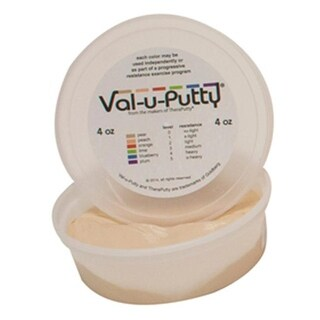 Fabrication Enterprises Val-U-Putty Exercise Putty, Pear - 4 oz