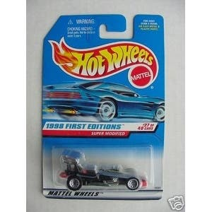 Hot Wheels #27 of 40 1998 First Editions Super Modified Collector #664|https://ak1.ostkcdn.com/images/products/is/images/direct/6e3a8208d6de8c521a44e1885b0b7df59ce618c4/Hot-Wheels-%2327-of-40-1998-First-Editions-Super-Modified-Collector-%23664.jpg?impolicy=medium