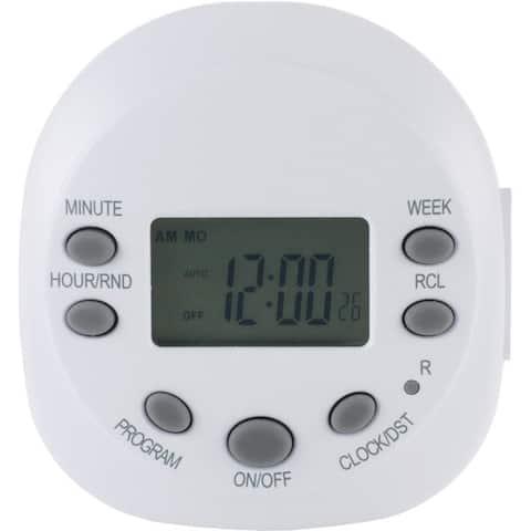 Ge 15154 7-Day Random On/Off 1-Outlet Plug-In Digital Timer