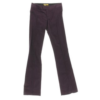 Catherine Malandrino Womens Corduroy Bootcut Casual Pants - 4