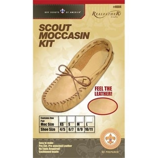 Silver Creek C4604-04 Leather Scout Moccasin Kits